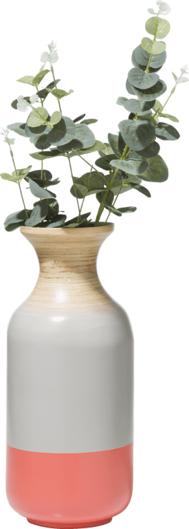 vase janey small - bambus