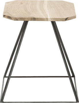 table d'appoint kanpur - 40 x 40 cm + tube metal
