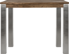 table de bar 120 x 70 cm - inox 9x9