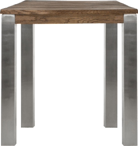 bartafel 90 x 90 cm - rvs 9x9