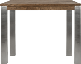 table de bar 120 x 90 cm - inox 9x9