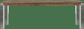 bartafel 240 x 100 cm - rvs 9x9