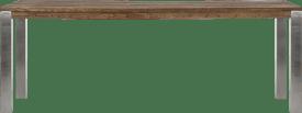 bartafel 260 x 100 cm - rvs 9x9