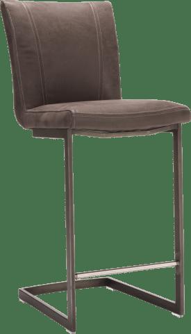 barstoel - vintage metaal swing recht