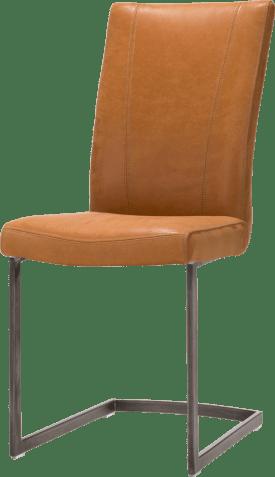 eetkamerstoel - vintage metaal swing recht