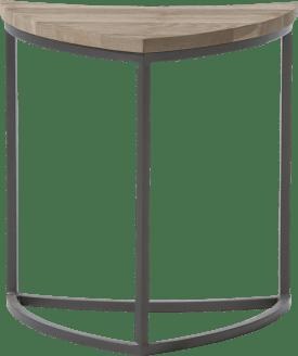 bijzettafel ugie - bladvormig