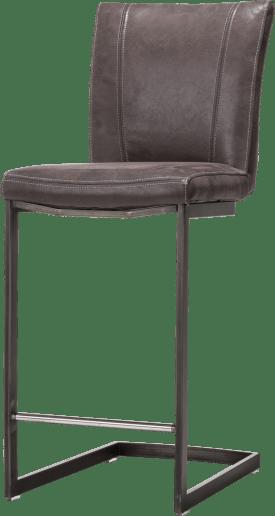 barstoel - zwart swing recht