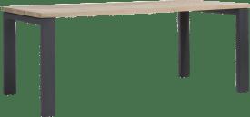 eetkamertafel 160 x 100 cm