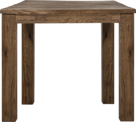 table 90 x 90 cm - bois 9x9