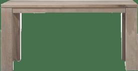 uitschuiftafel 160 (+ 60) x 90 cm - hout 9x9