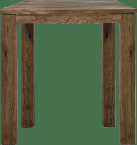 bartafel 90 x 90 cm - hout 9x9