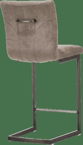 barstoel - vintage metaal swing recht + greep