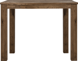 table de bar 120 x 70 cm - bois 9x9