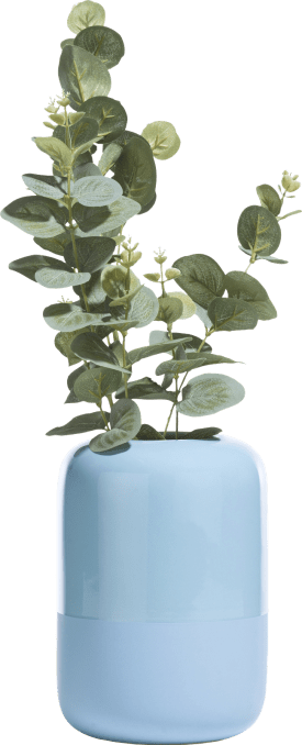 vase dome small - bleu