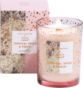 geurkaars tropical spice & peach