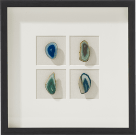 decoration mural agate - 50 x 50 cm
