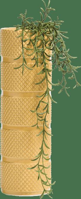 vaas lucy large - geel
