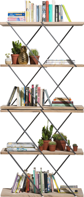 roomdivider leandra - 2-niches - 85 cm