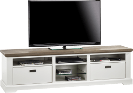 tv-dressoir 2-manden + 5-niches - 180 cm