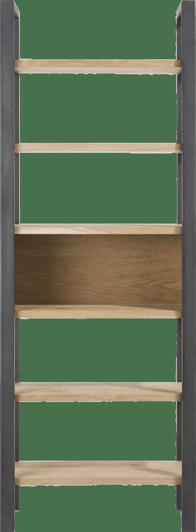 boekenkast 70 cm - 6-niches