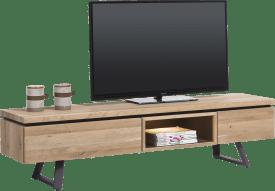 tv-dressoir 180 cm - 1-lade + 1-klep + 1-niche (+ led)