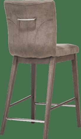 barstoel houten beukenpoot met greep rond