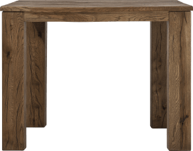 table de bar 120 x 70 cm - bois 12x12/10x14