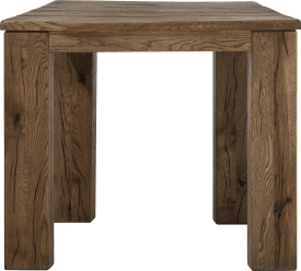 table 90 x 90 cm - bois 12x12/10x14