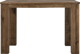 table de bar 140 x 70 cm-bois 12x12/10x14