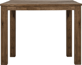 table de bar 120 x 90 cm - bois 9x9