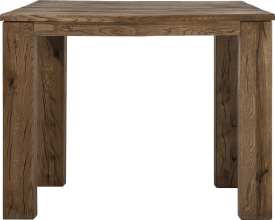 table de bar 120 x 90 cm - bois 12x12/10x14
