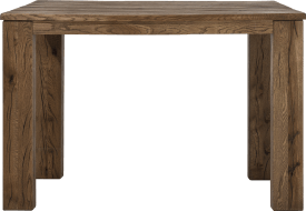 table de bar 140 x 90 cm - bois 12x12/10x14