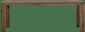 bartafel 260 x 100 cm - hout 12x12/10x14