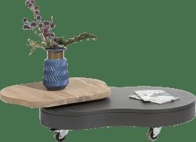 salontafel met draaitop 110 x 80 cm