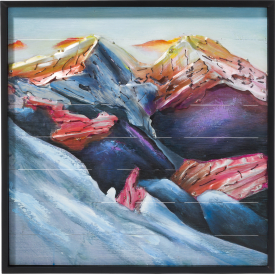bild mountains - 73 x 73 cm