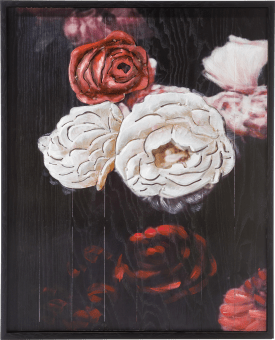 bild antique rose - 73 x 90 cm