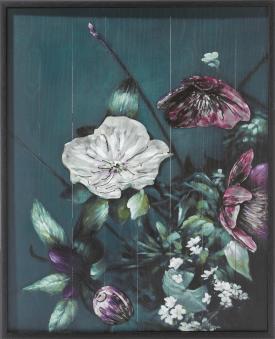 bouquet 3d bild 73x90cm