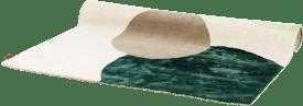 teppich circle - 160 x 230 cm - 70% wolle / 30% viskose