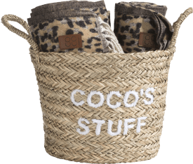 basket coco's stuff - natural