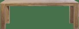 table - 230 x 100 cm + pieds en bois
