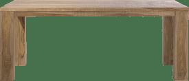 table - 200 x 100 cm + pieds en bois