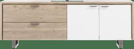 lowboard 180 cm - 2-deuren + 2-laden