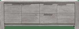 sideboard 3-tueren + 2-laden - 240 cm