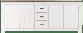dressoir 4-deuren + 3-laden - 220 cm