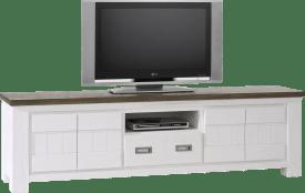 tv-dressoir 4-deuren + 1-lade + 1-niche - 190 cm