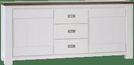 dressoir 2-deuren + 3-laden - 190 cm
