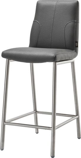 chaise bar inox + tatra materiau synthetique
