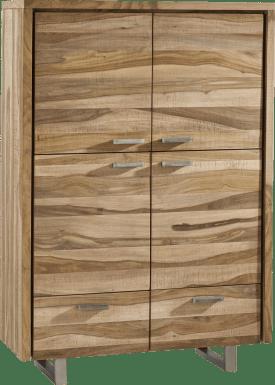 armoire 111 cm - 4-portes + 2-tiroirs
