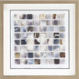 decoration murale marbles - 60 x 60 cm