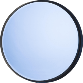 wall mirror logan - diameter 60 cm